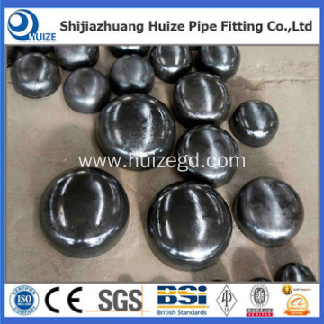 large diameter carbon steel pipe end cap