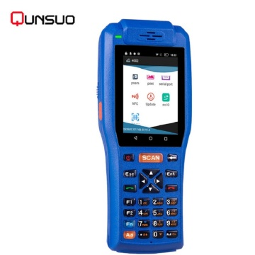 Handheld Parking programmable barcode scanner PDA