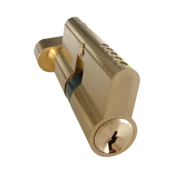 Euro Thumb Turn Brass Door Lock Cylinder