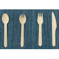 Flatware wooden cutlery set