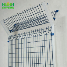 Hot sale Powder coated wire fence 3d