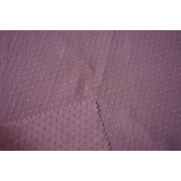 100% Viscose Swiss Dot Jacquard Dyed Fabric