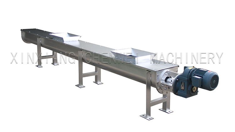 U Shape Screw Conveyor