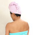 microfiber super absorbent personalized hair towel for women