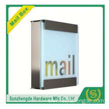 SMB-069SS Modern Antique Factory Supply Smart Wholesale Stainless Steel Mailbox