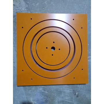 Insulation Material Orange Bakelite Sheet CNC engraving