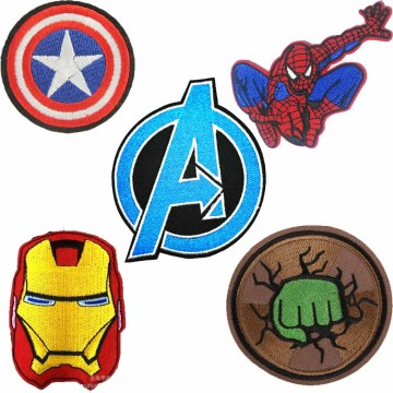 Captain America Iron On Embroidered Patch Clothes Patch