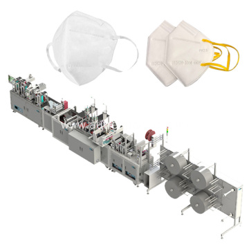 Fully Automatic Face Protective Mask Making Machine