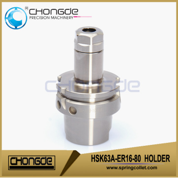 HSK63A-ER16-80 Ultra accuracy CNC Machine Tool Holder