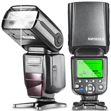 Neewer NW-565 E-TTL On-camera Slave Speedlite Flash Light for Canon 5D II/7D/6D/60D/700D/30D/40D/650D/all Other Canon DSRL