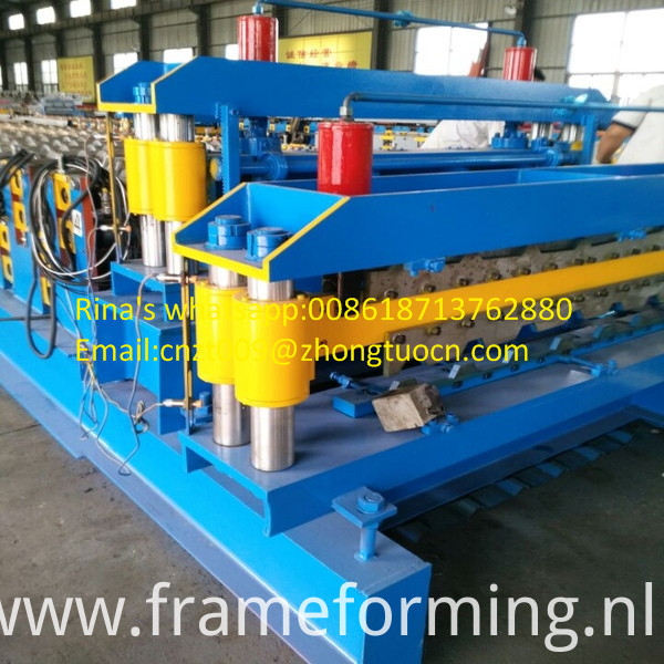 steel sheet roof sheet roll forming machine line 24