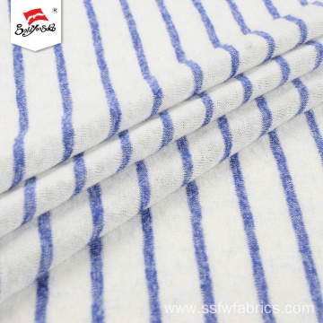 Clean Colors Antistatic Popular Stripe Hacci Knit Fabric