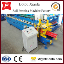 Galvanized Metal Roof Ridge Cap Roll Forming Machine