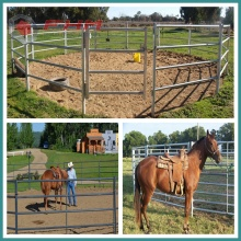 Galvanized Horse Corral Portable Panels
