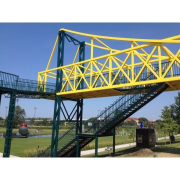 New Product Prefab Steel Pedestrian Bridge Building