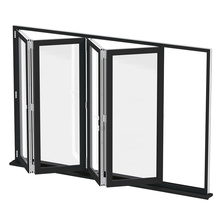 Glass External Folding Patio Doors