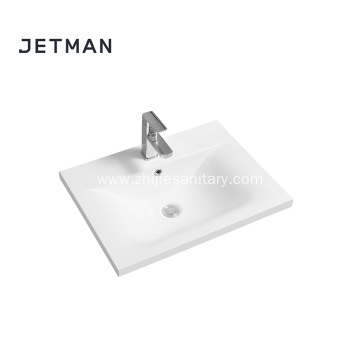 Rectangular Double Undermount Bathroom Sink