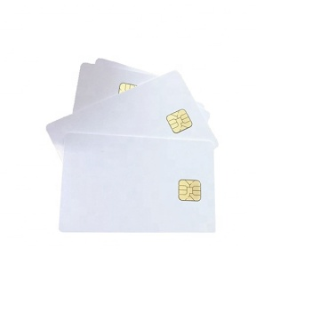 RFD Contact Smart Card SLE5542 Chip Credit Card