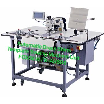 Automatic Dress Shirt Template Sewing Machine Unit