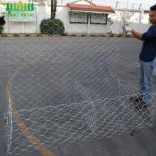 Quality guarantee hot dip galvanized gabion mesh