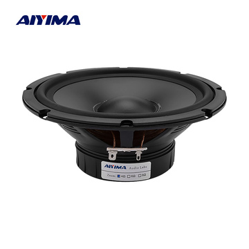AIYIMA 1Pc 6.5 Inch Woofer Midrange Speaker 4 8 Ohm 30W Waterproof Speaker Bass Home Theater PP Basin Rubber Outdoor Loudspeaker
