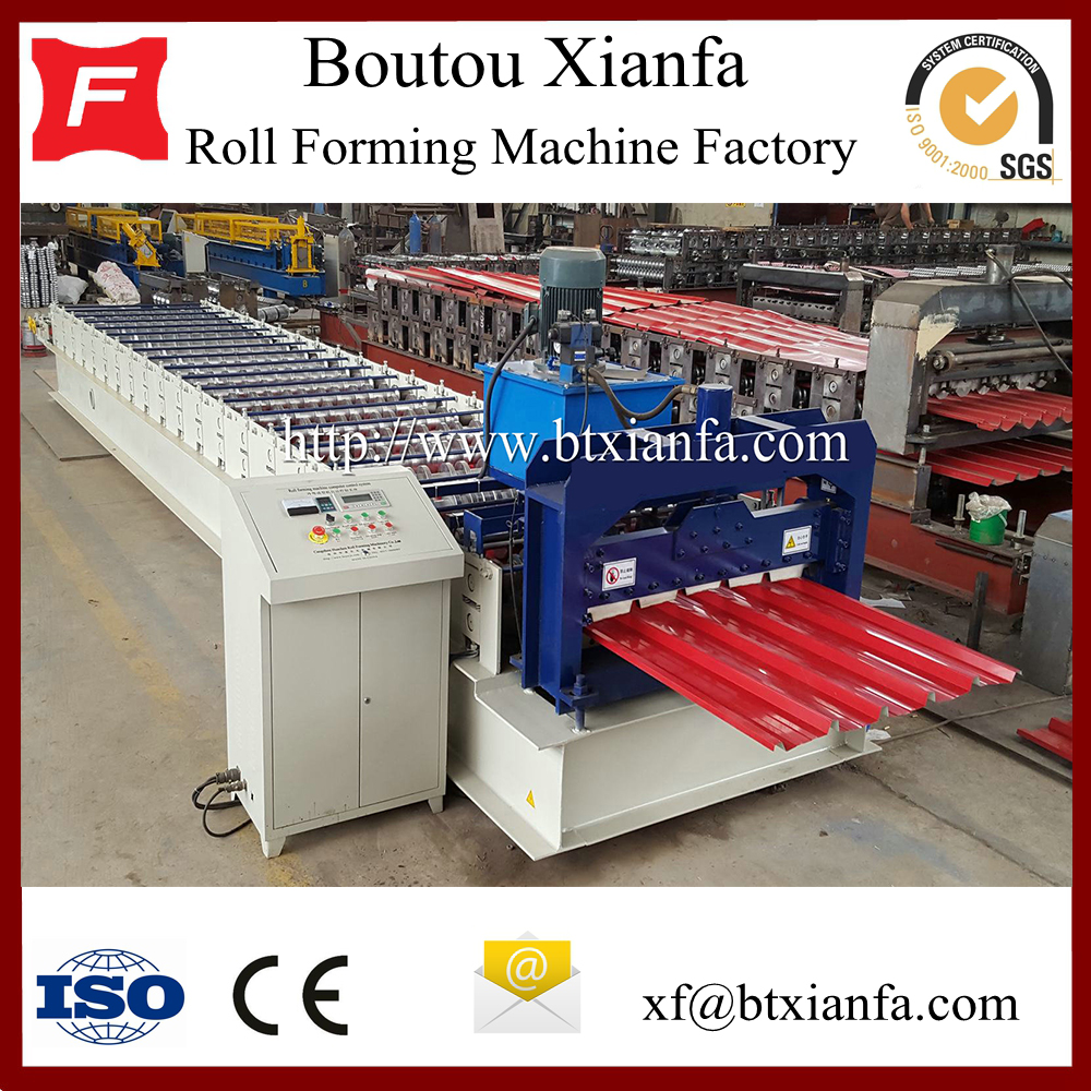 Steel Sheet Tiles Roll Forming Making Machine