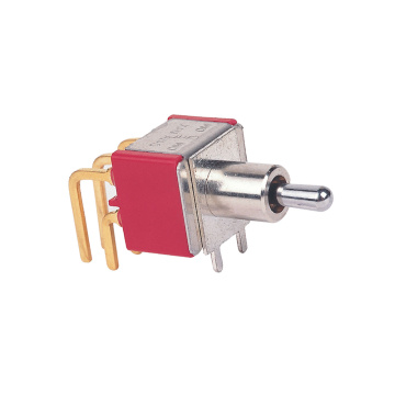 Right Angle Electrical Miniature Toggle Switches