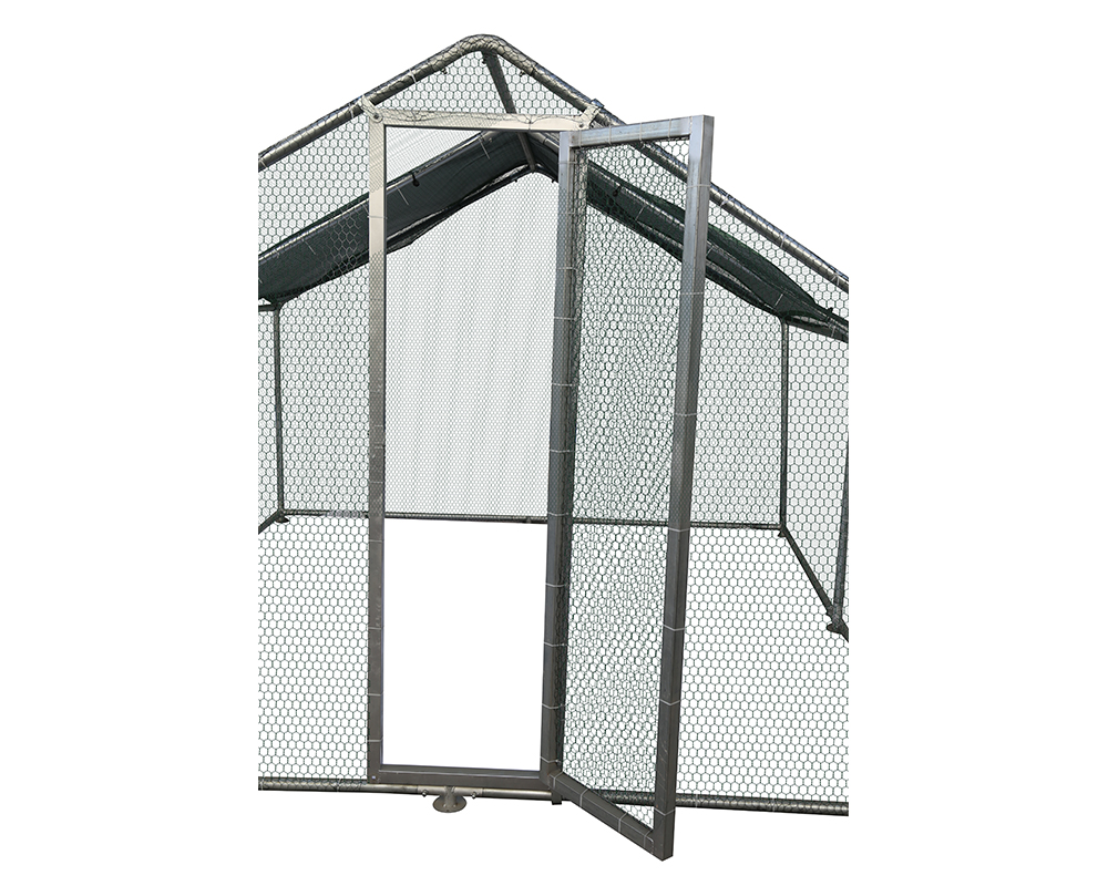 Galvanized Chicken Kennel