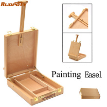 Easel Multifunctional Painting Artist Easel Art Drawing Paint Supply Wood Table Retractable Box Board Hardware Art Supplies