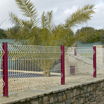 bending wire mesh fence panels