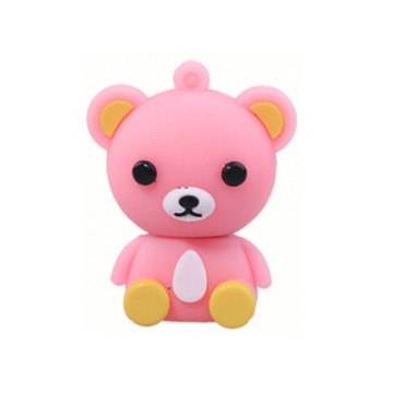 Cute Custom Teddy Bear USB Flash Drive