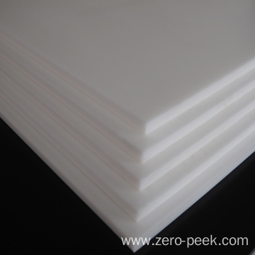 Natural POM sheet white