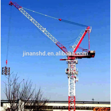 machinery equipments QTD80-6t luffing jib tower crane