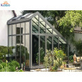 Steel Frame Upvc Prefabricated Aluminum Glass Sunroom