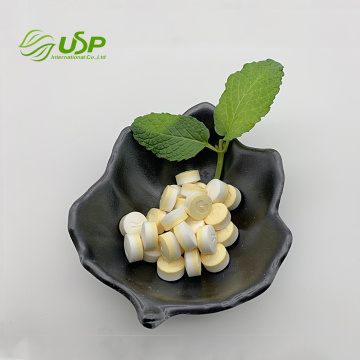 Excellent quality sugar free stevia Lemon mints tablet