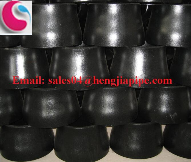 black concentric reducer
