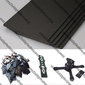 CNC Cut Carbon Fiber Board/sheet/plate