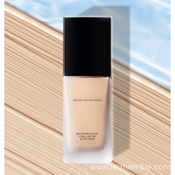 Concealer and moisturizing liquid foundation lasting