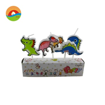 Dinosaur Shape Smoke-Free Party Birthday Cake Candles