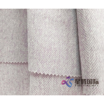 Fashionable Color 100% Wool Fabric For Overcoats