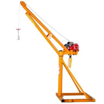 Convenient 500kg 360-degree outdoor small lifting crane