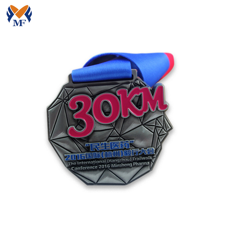 Fun Run Metal Medals
