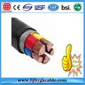 0.6/1kv 4x120mm2 XLPE Insulated PVC Outer Sheath Power Cable