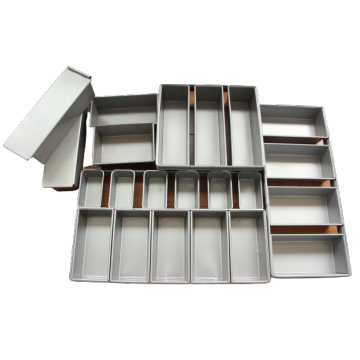 3 Strap Aluminized Steel  Loaf Pan
