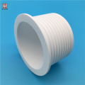 cnc machining 95% alumina Al2O3 ceramic cavity nut