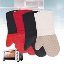 Silicone Oven Gloves with Cotton