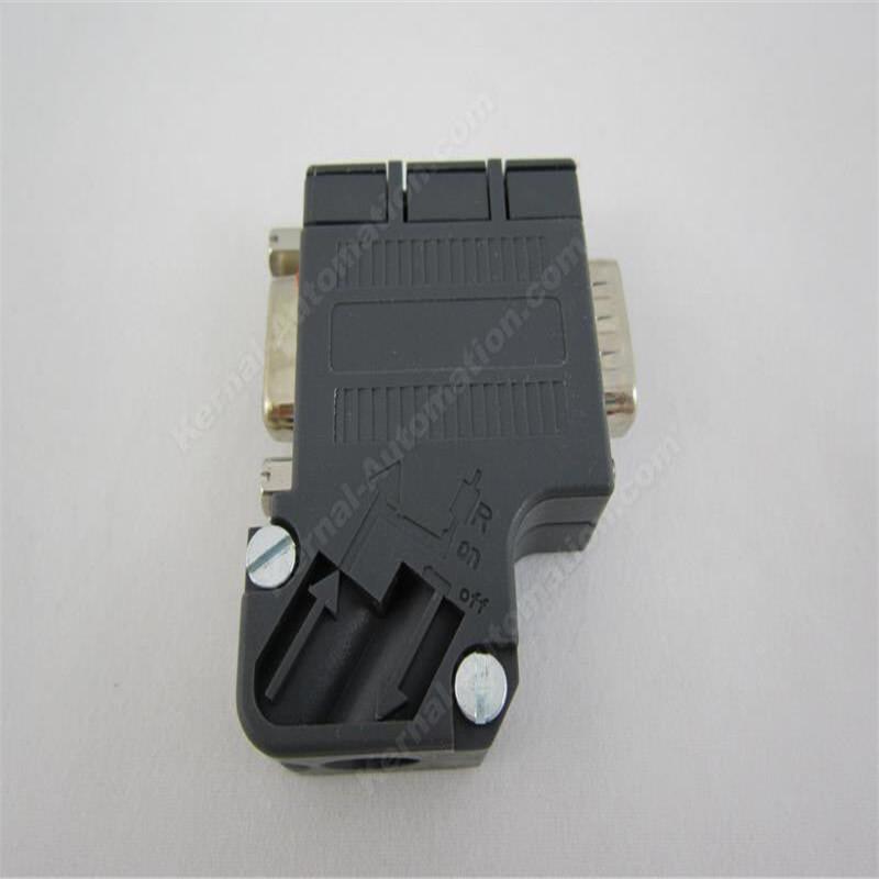 6ES7 972-0BB41-0XA0 DP Plug Profibus Bus Connector Adapter Electronic Data Systems DP Data Plug Connector