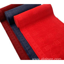 Nonwoven needle punched embossed velour mat  carpet