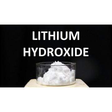 why lithium hydroxide decomposes on heating