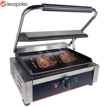 Barbeque Grill On Gas With Griddle Cast